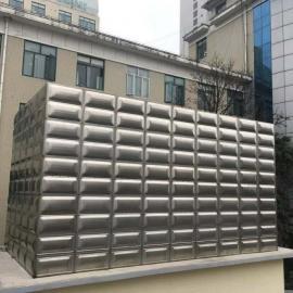 不锈钢水箱制作,地埋式方形水箱介绍,装配式水箱拼装