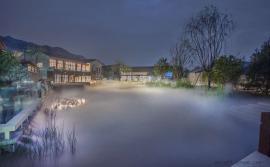 镇海人造雾喷雾喷泉景观