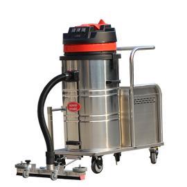 大面积场所用无线式吸尘器移动式边推边吸强力工业电瓶式吸尘器
