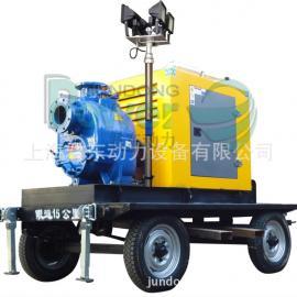 防汛发电排水两用泵车/500立方应急抢险移动泵车/移动离心泵