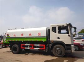 工地专用的浇水车12吨12立方抗旱浇水车(拉水车)车型报价图片