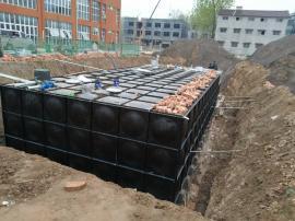 地埋消防装配式水箱、抗浮地埋箱泵一体化