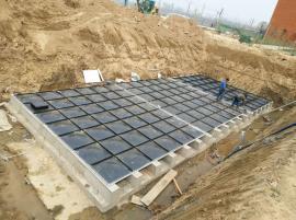 消防装配式水箱、地埋箱泵一体化