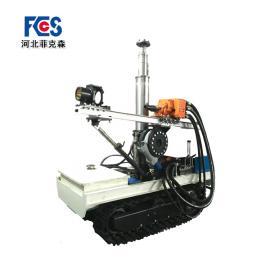 优质钻机生产企业荐菲克森气动履带式潜孔钻机ZQLC-650-9.8S