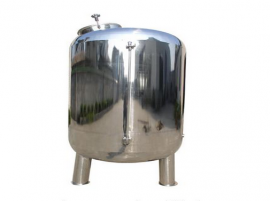 锰砂过滤器不锈钢过滤罐除锰铁成分地下水过滤