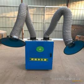 宝聚 焊烟净化器移动式工业焊接烟尘烟雾净化器工作原理
