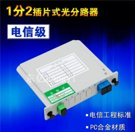PCL插片式1:2光分路器*