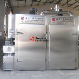 诸城华钢全自动XZ-500烟熏炉