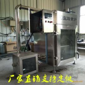 全自动烟熏腊肉设备,熟食烟熏炉