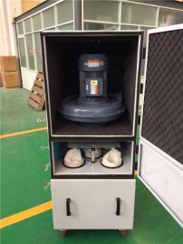 2.2kw工业集尘机 铁屑粉尘收集器 脉冲反吹集尘器