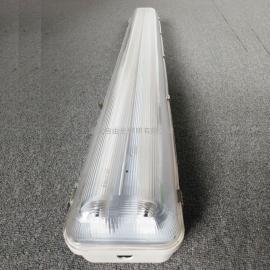 带蓄电池壁式三防荧光灯GFD6010-2*18W防尘LED灯