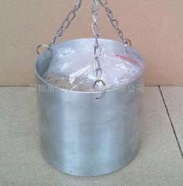 汇中GB4706.37电热铛机械强度冲击试验标准铝锅