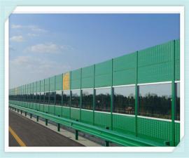 桥上隔音屏障 隔音墙 镀锌板隔音声屏障