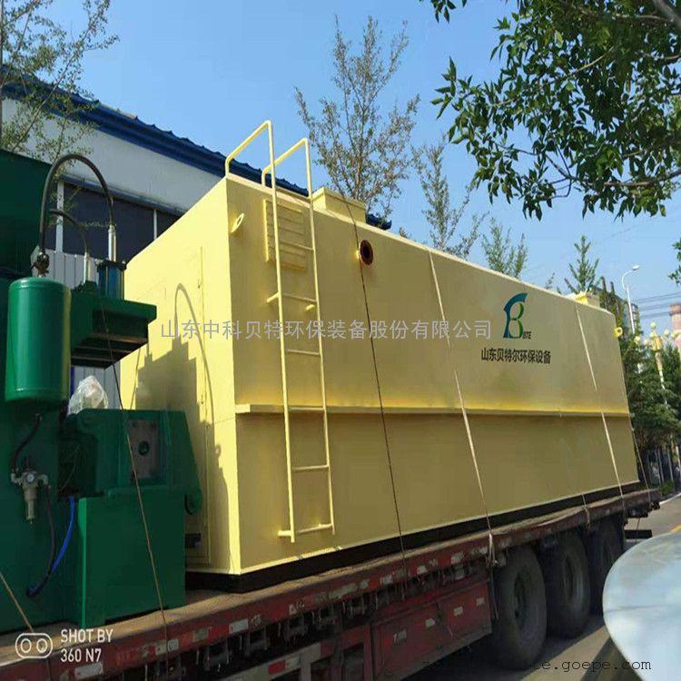 小型服装厂生活污水处理专用设备地埋式污水处理设备出水达标