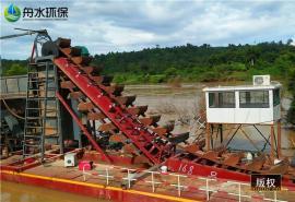 大型挖沙船 抽沙淘金船 回收率高的淘金设备