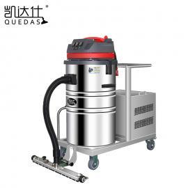 机械车间吸地面粉尘用无线电动吸尘器 可以边推边吸的吸尘器
