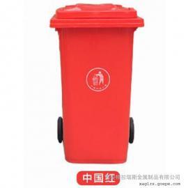 格拉瑞斯塑料垃圾桶厂 现货销售景区垃圾桶 带轮垃圾桶 支持送货