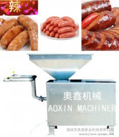 不锈钢 烤肠 齿轮灌肠机