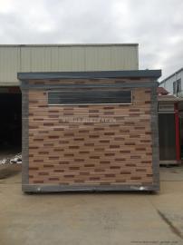 工业区分类垃圾房设计方案尺寸 小区工业垃圾房加工厂直接发货
