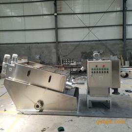 水天污泥处理设备不锈钢叠螺式污泥脱水机STDL131节水节电全自动