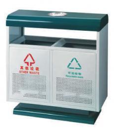 市政分类垃圾桶蓝湾华府小区分类果皮箱公园分类果皮箱
