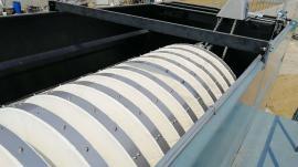 自工厂专业生产代产纤维转盘过滤器箱体滤布滤池