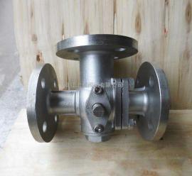 不锈钢三通球阀,Q44F/Q45F-16P,L型或者T型球阀