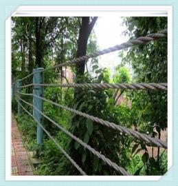 专注缆索护栏 景区缆索护栏 五索缆索防护栏