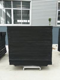 豪瑞黑色岩棉吸音板环保节能,防火防潮防变形,现代吊顶的选择