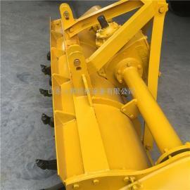 1.6米1.8米悬挂式稳定土拌合机现货 人和公路搅拌灰土拌和路拌机