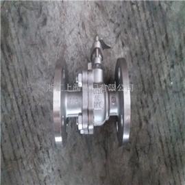 不锈钢化工部球阀,Q41F-16P, 304化工部阀门