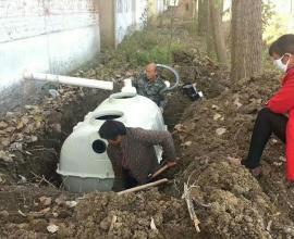 旱厕改造化粪池环保