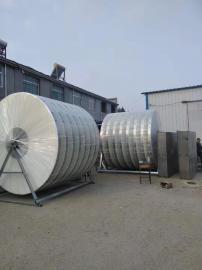 自工厂专业生产代产纤维转盘箱体滤布滤池