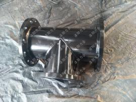 碳钢衬胶等径三通 耐磨化工管件