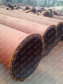 耐磨�r�z管道 化工循�h水�送管道