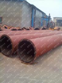 供应衬胶耐磨管道 矿浆输送管道