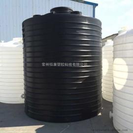 恒康10吨化工塑料桶PAC储罐10立方絮凝剂塑料储罐