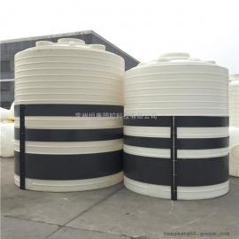 恒康10吨PE塑料水箱酸碱废水储罐10立方絮凝剂塑料储罐