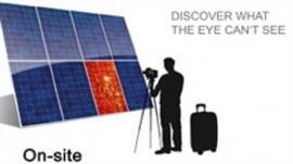 户外便携式光伏组件EL测试仪