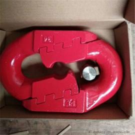 专业生产22*86弧齿环 精密锻造刮板机用22*86弧齿型连接环