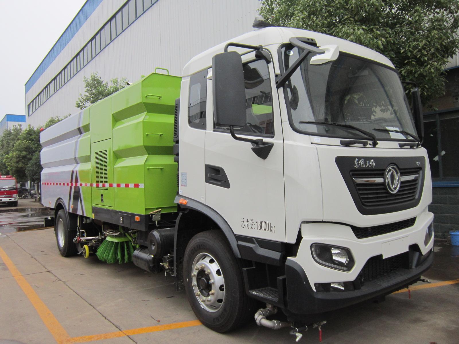全国新国六东风天锦16吨洗扫车(现货)