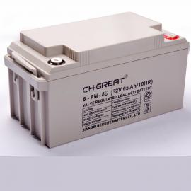 格瑞特CH.GREAT�池6-FM-65 �U酸蓄�池12V65AH