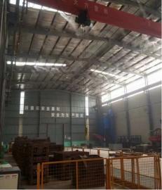 水泥厂降尘喷淋系统-料棚降尘喷雾设备-车间高压雾化降尘系统支持