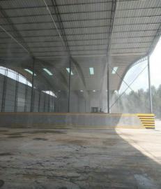 水泥厂降尘喷淋系统-搅拌站降尘喷淋系统-车间高压雾化降尘系统使