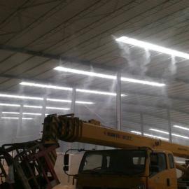 矿场降尘喷淋系统-车间喷雾降尘设备-车间高压雾化降尘系统经久耐