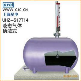UHZ-517T14石油液态气体顶装磁翻柱液位计(顶装式;磁翻板液位...