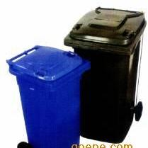 移动塑料垃圾桶,塑料两轮垃圾桶,环卫挂车桶,优质塑料垃圾桶