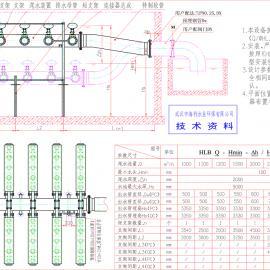 1000-3000m3/h PC型浮动式重力滗水器