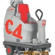 驾驶式洗地机 自动洗地机 驾驶式全自动刷地机C4