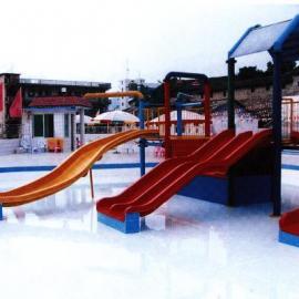 水滑梯,儿童滑道,游泳池休闲小品